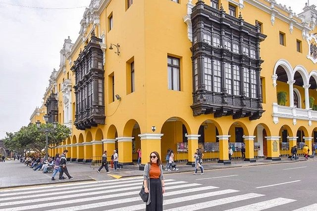 city hall in lima
